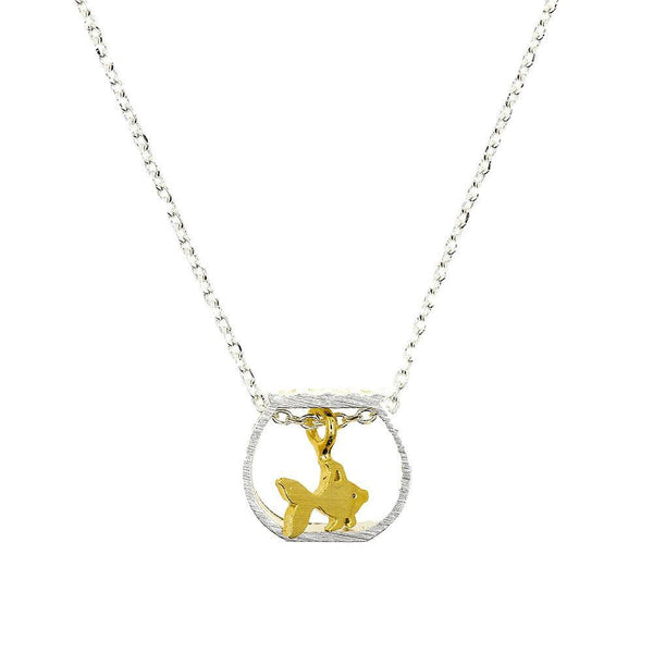 Necklace Goldfish Silver