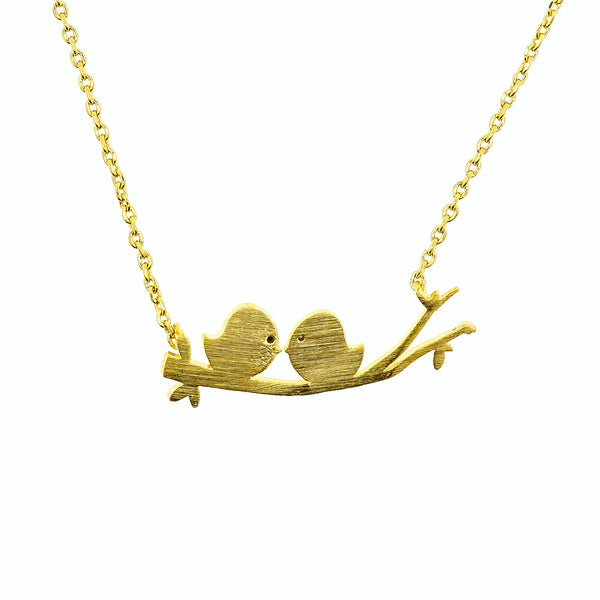 Necklace Tweety Birds on Branch