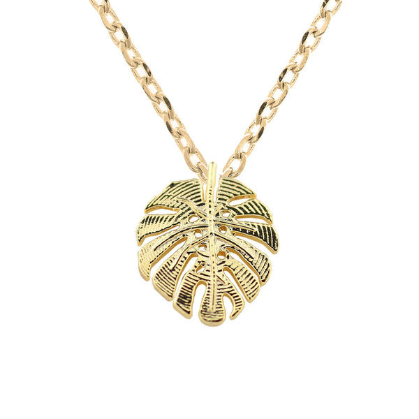 Necklace Monstera Leaf
