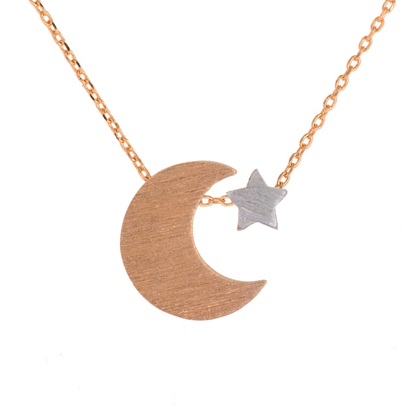 Necklace Moon and Star