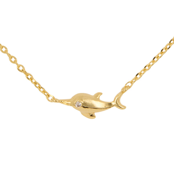 Necklace Dolphin Bubble