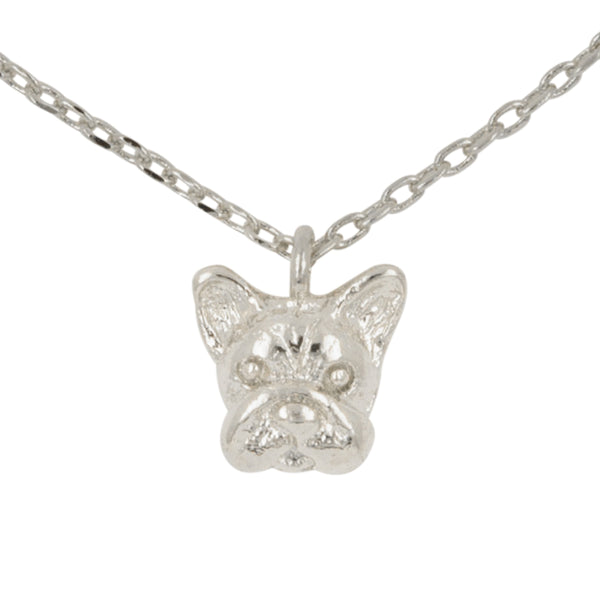 Necklace French Bulldog Bubble