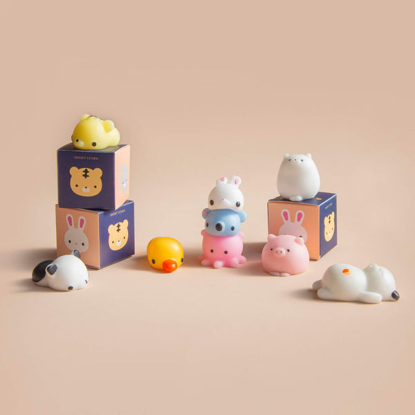 Mystery Box Set Squishy Friends Assorted