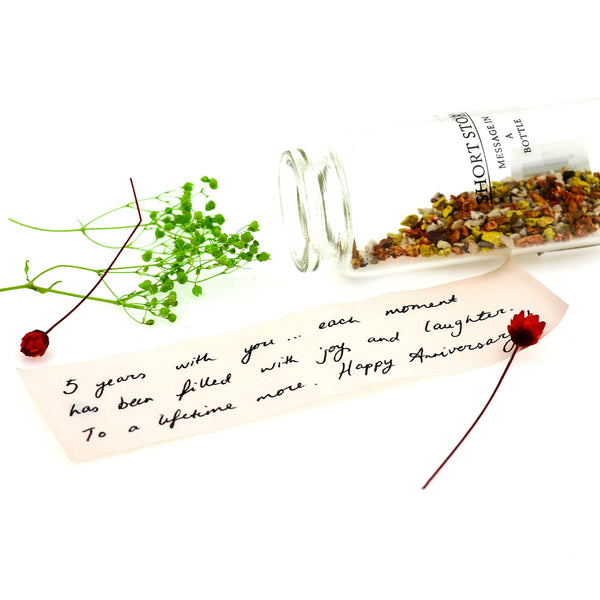 Message in a Bottle Rose Red