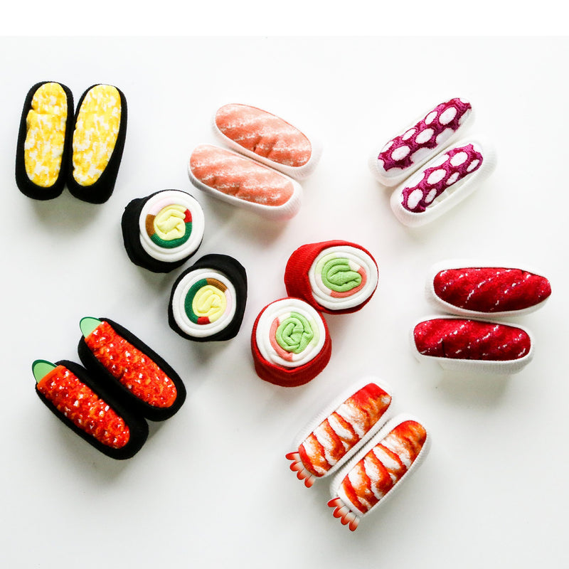 Sushi Socks Salmon Roe