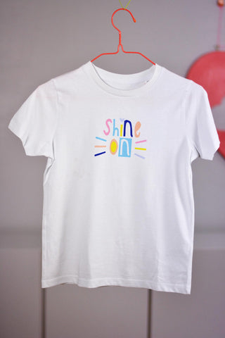 Kinder - T-Shirt - Shine on