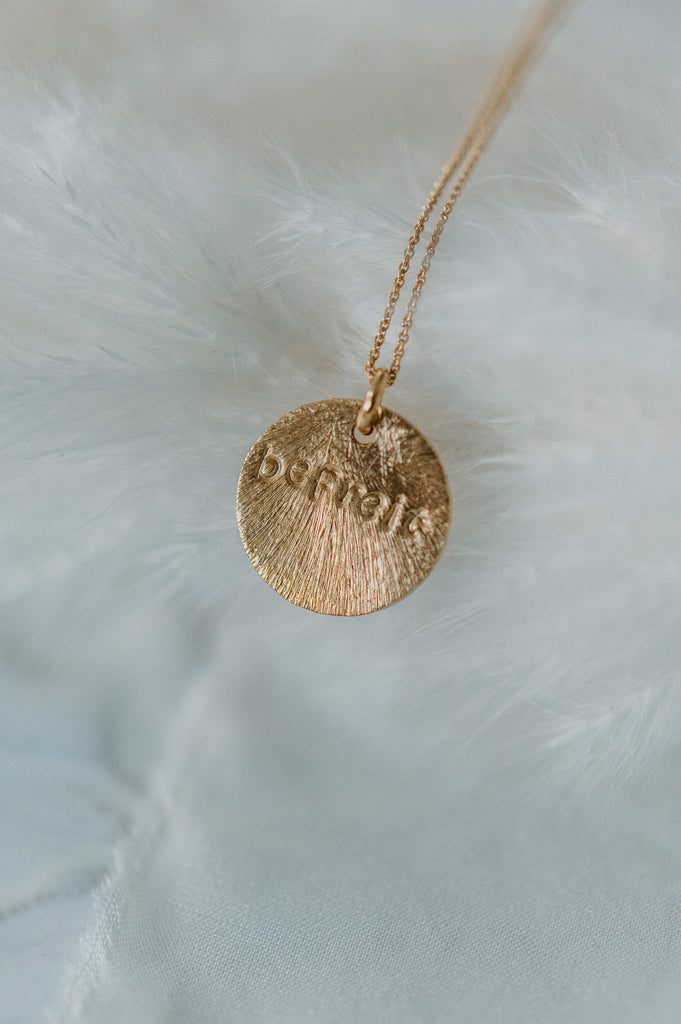Necklace - Befreit - gold