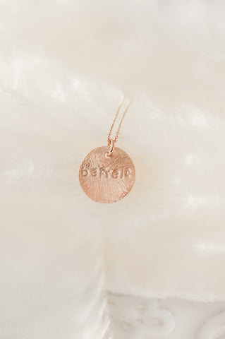 Necklace - Befreit - roségold