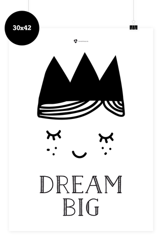 Kinder Poster - Dream Big