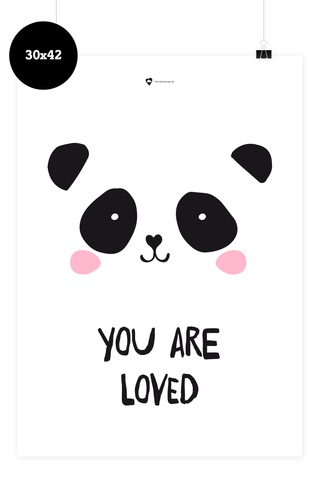 Kinder Poster - You are loved