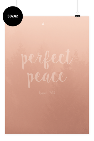 Poster - Perfect Peace