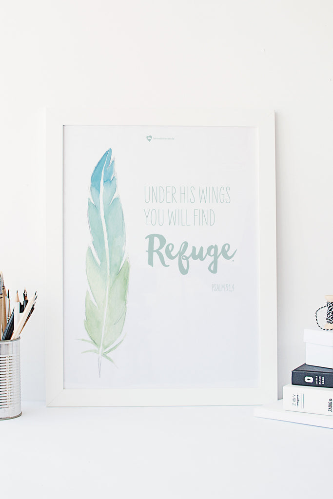 Printable - feather