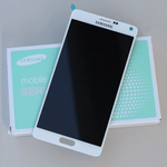 Ecran Galaxy Note 4 original blanc