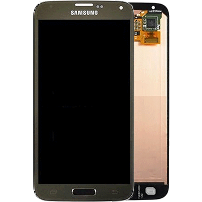Ecran Galaxy S5 Gold - or