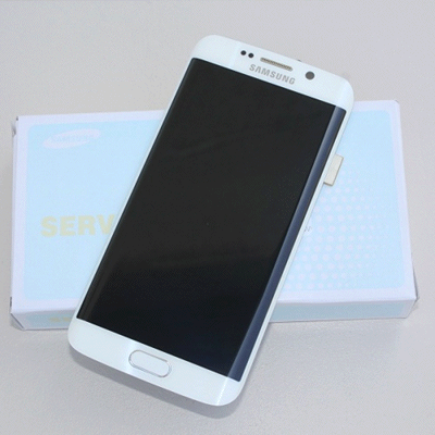 Ecran Galaxy S6 Edge blanc