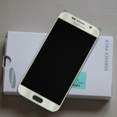 Ecran Galaxy S6 Gold - or