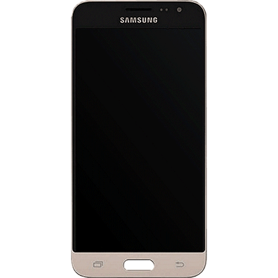 Ecran Galaxy J3 2016 SM-J320F or - Gold