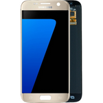Ecran Galaxy S7 gold - or