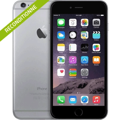 iPhone 6 gris sideral reconditionne