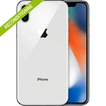 iPhone X argent reconditionne