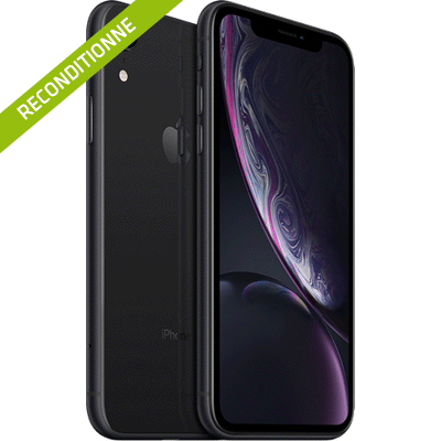 iPhone Xr noir reconditionne