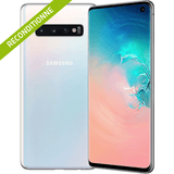 Galaxy S10 Blanc Prisme reconditionne