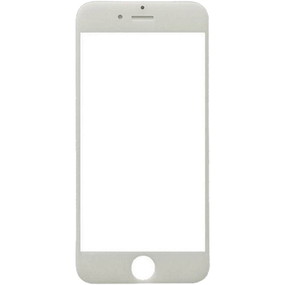 Vitre iPhone 6 Plus blanc