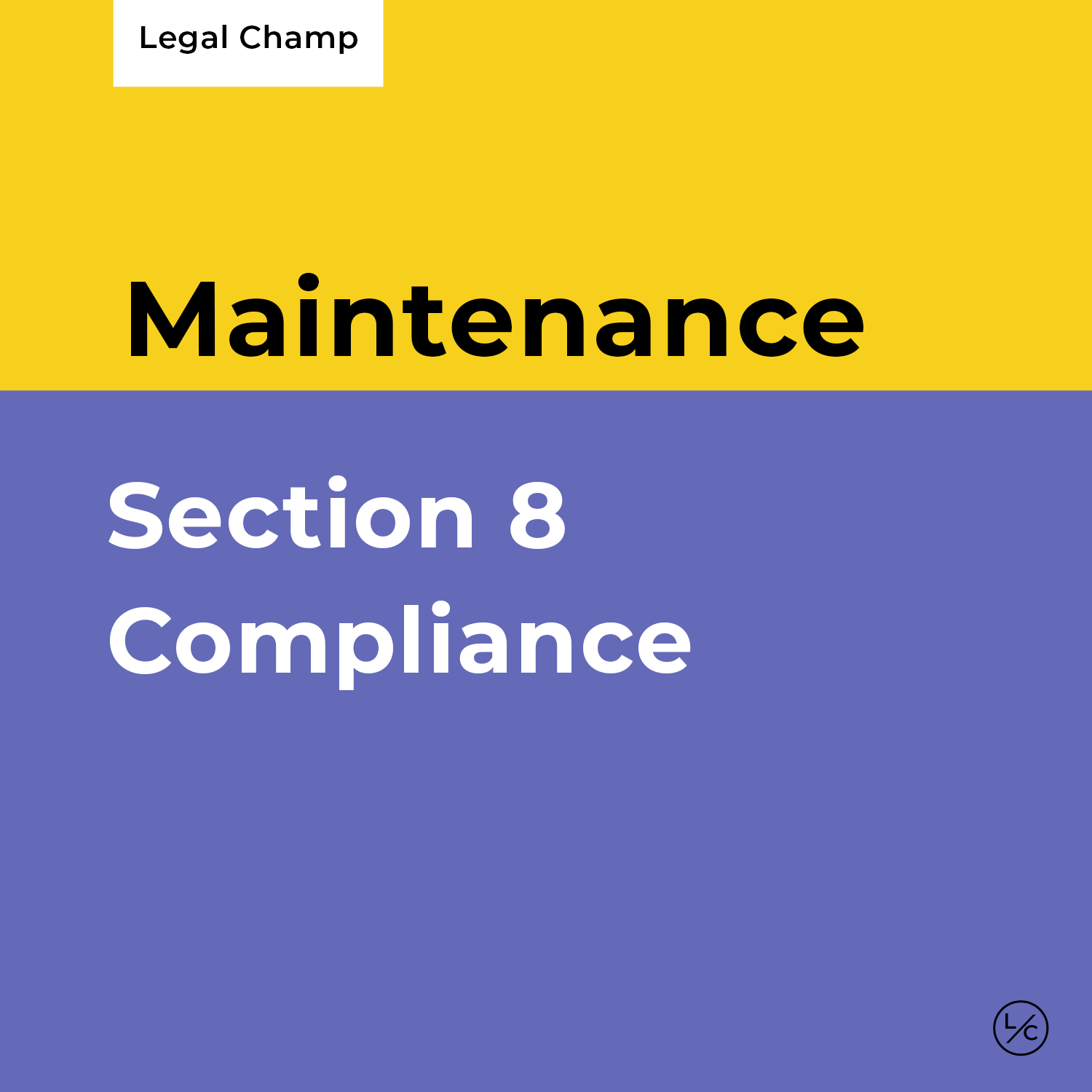 Section 8 Compliance