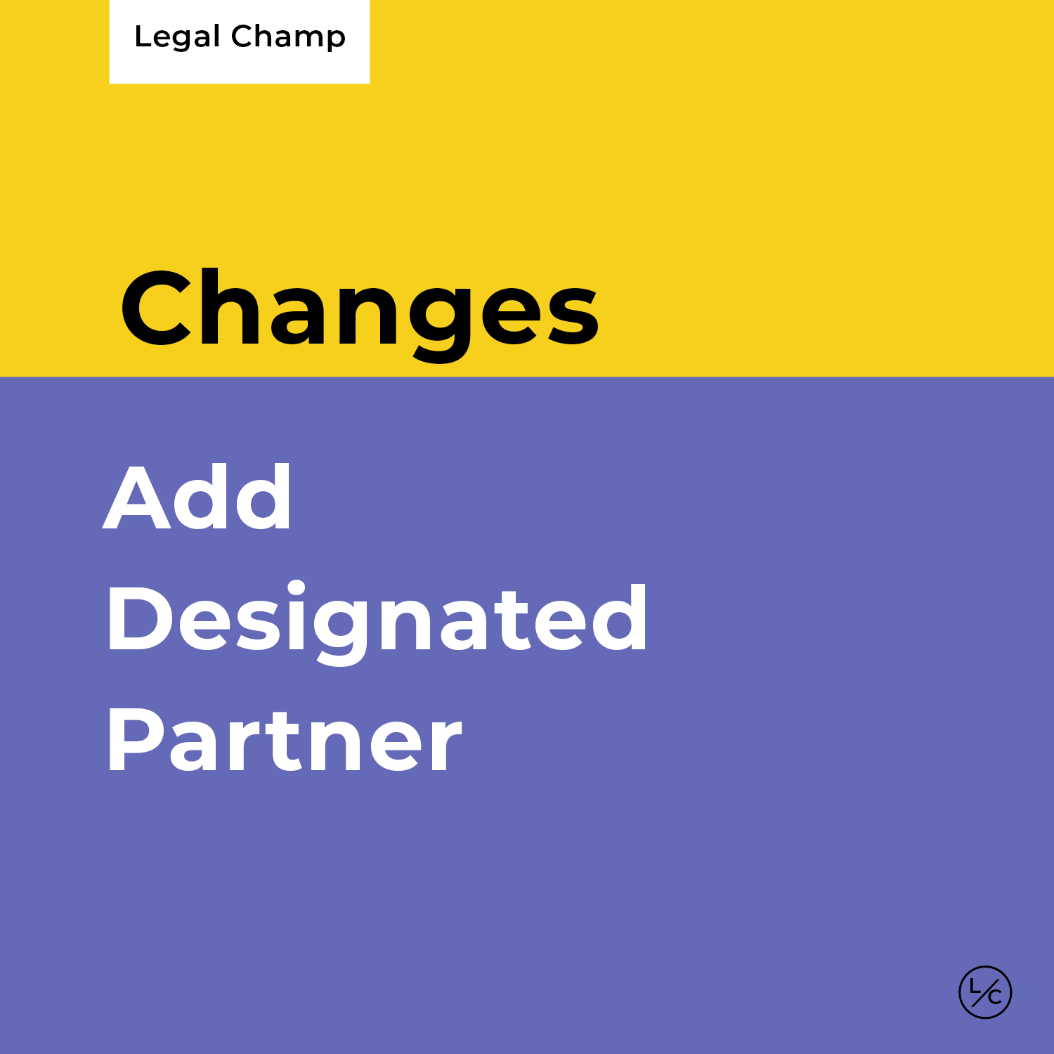 Add Designated Partner