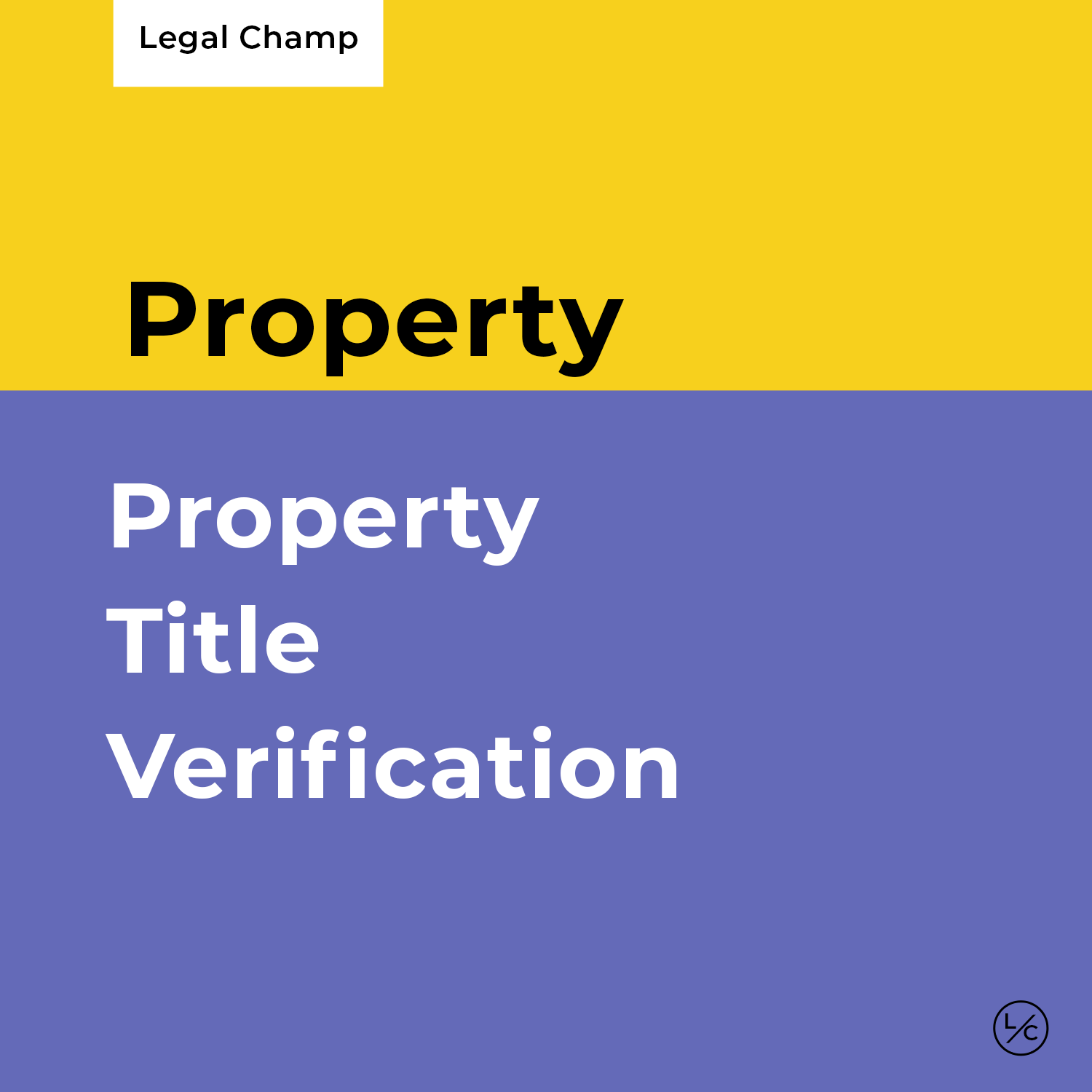 Property Title Verification