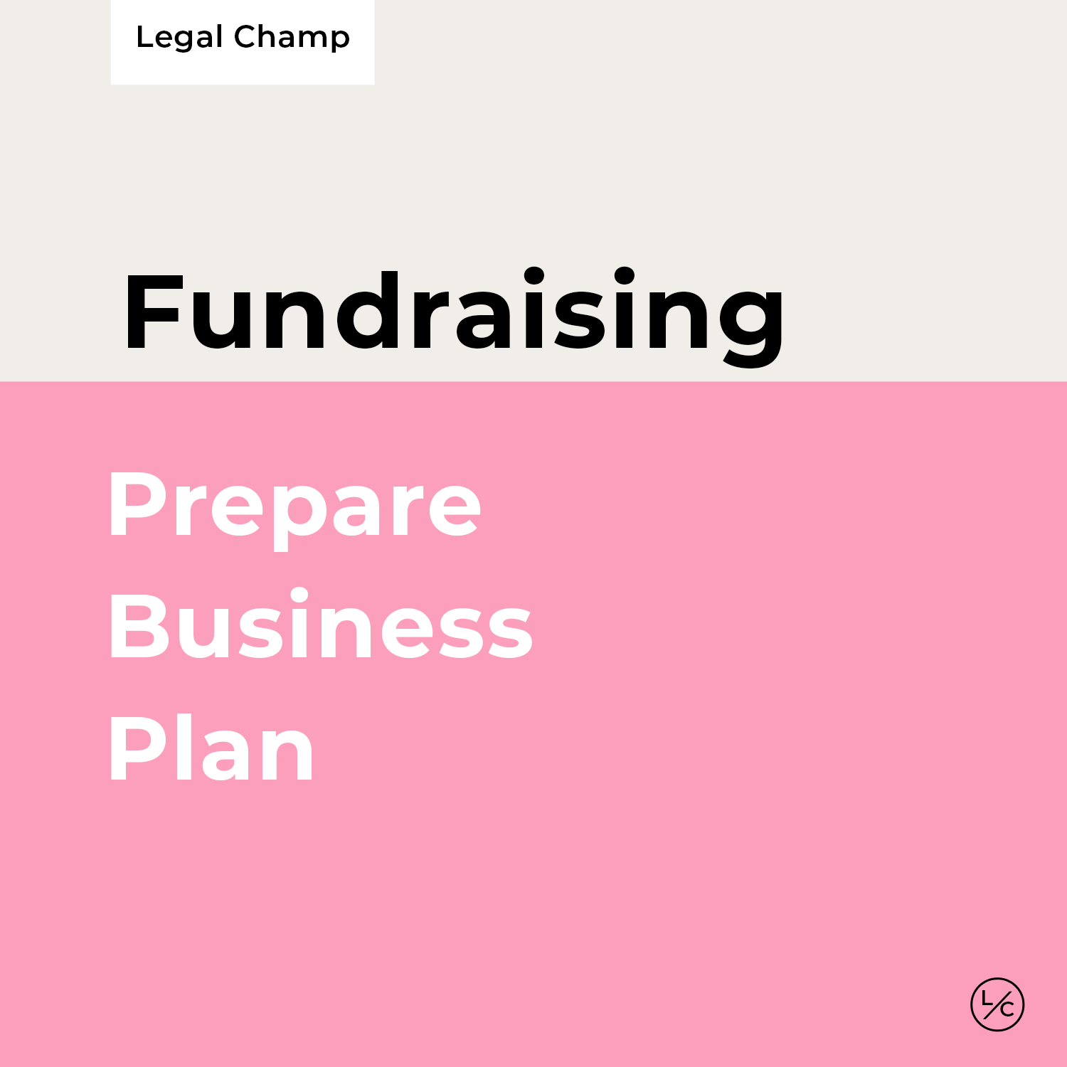 Prepare Business Plan