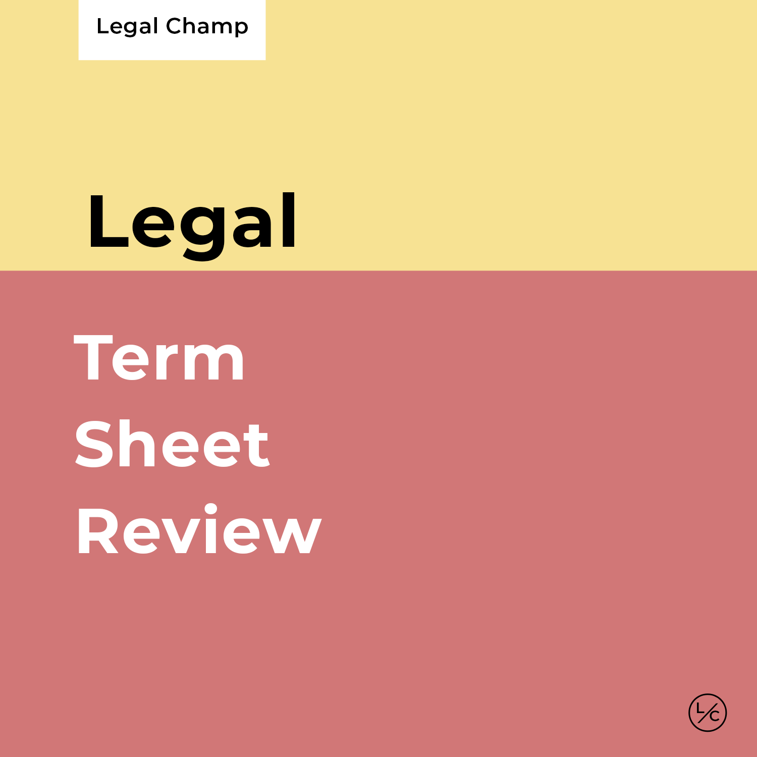 Term Sheet Review