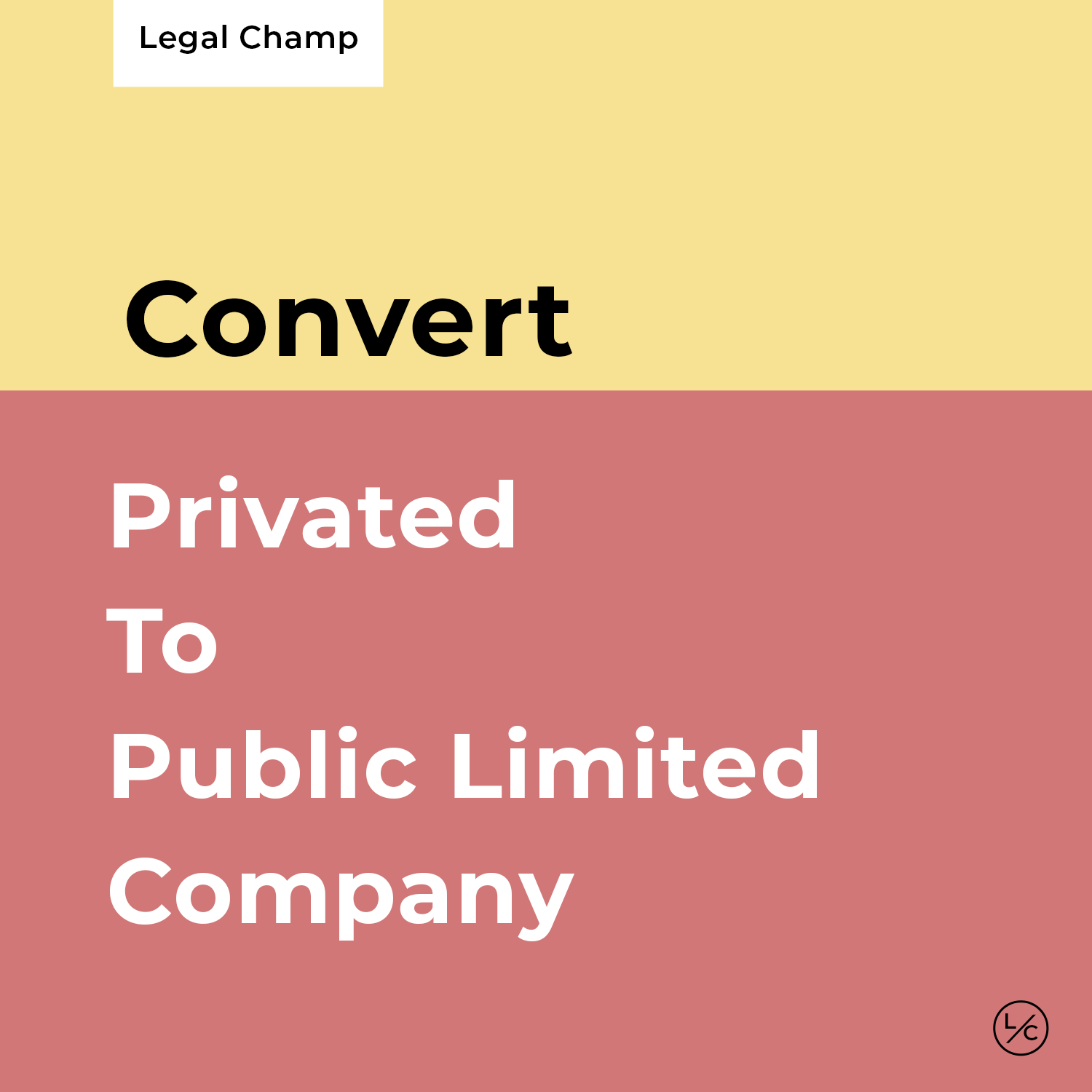 Private To Public Limited Company
