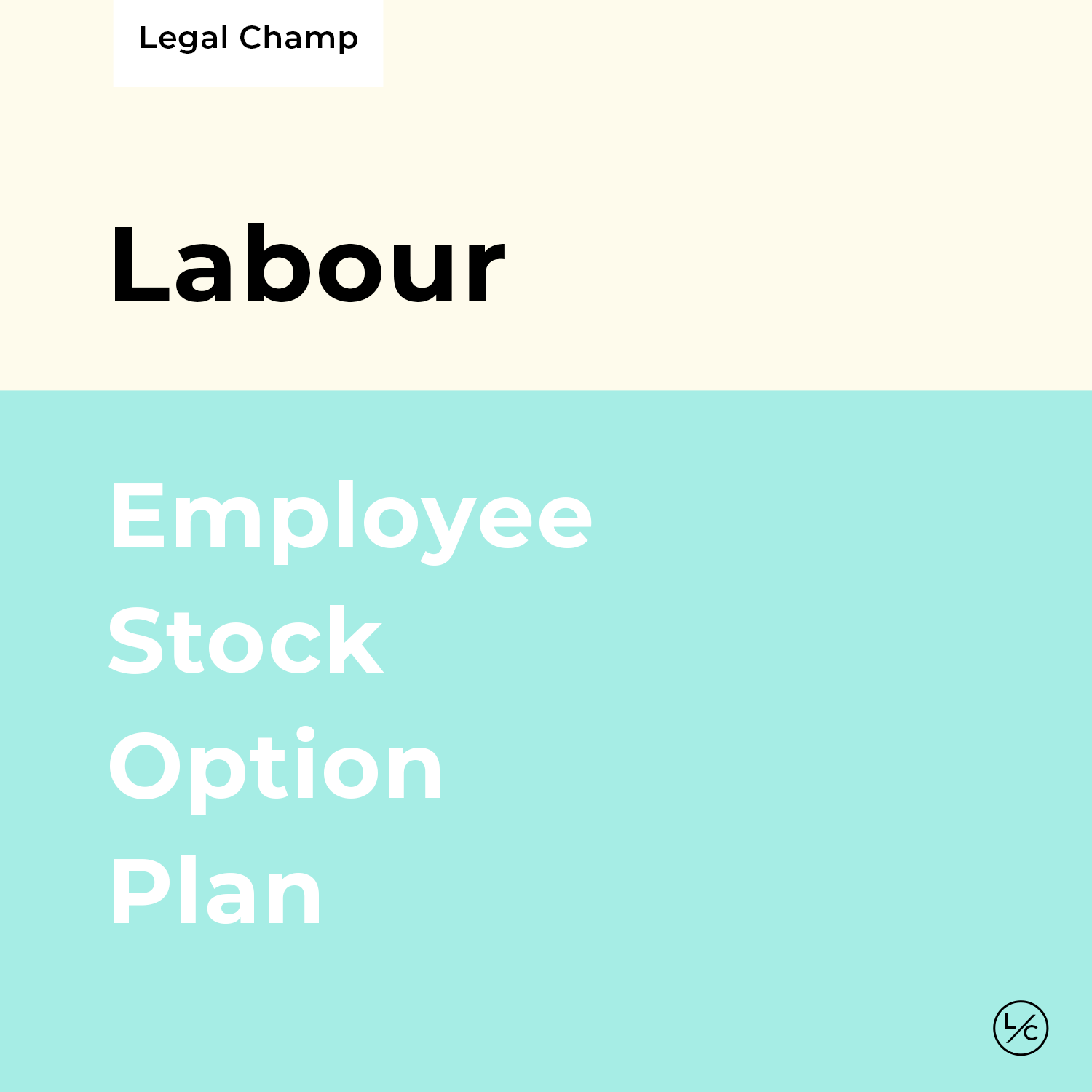 Employee Stock Option Plan [ESOP]