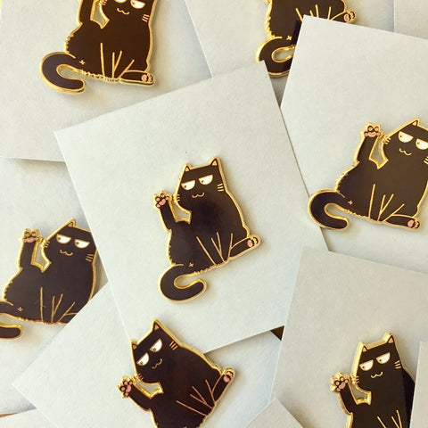 "Enamel pin ""Paw Up"""