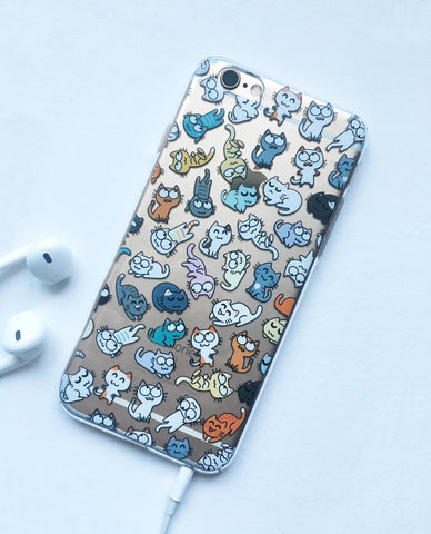 Kitty Pattern iPhone 6/6S/Plus/7 case