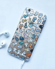 Kitty Pattern iPhone 6/6S case