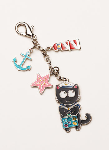 "Traveler's Lucky Charm ""Sailor Kitty"""