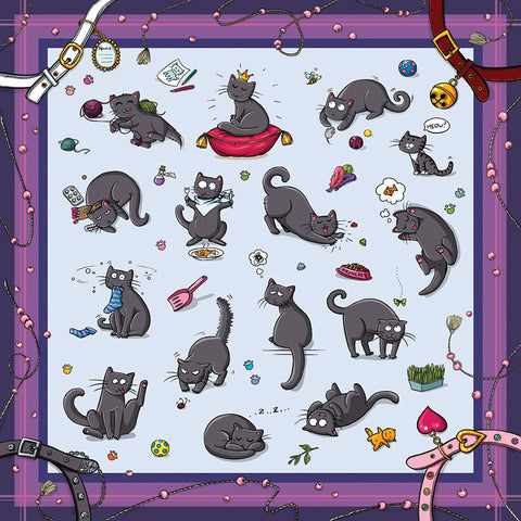 "Kitty Scarf ""Catsu the Cat"""