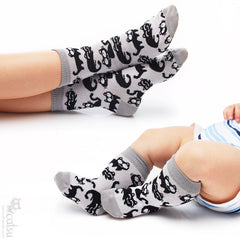 """Cat Pattern"" Socks for Babies and Kids"