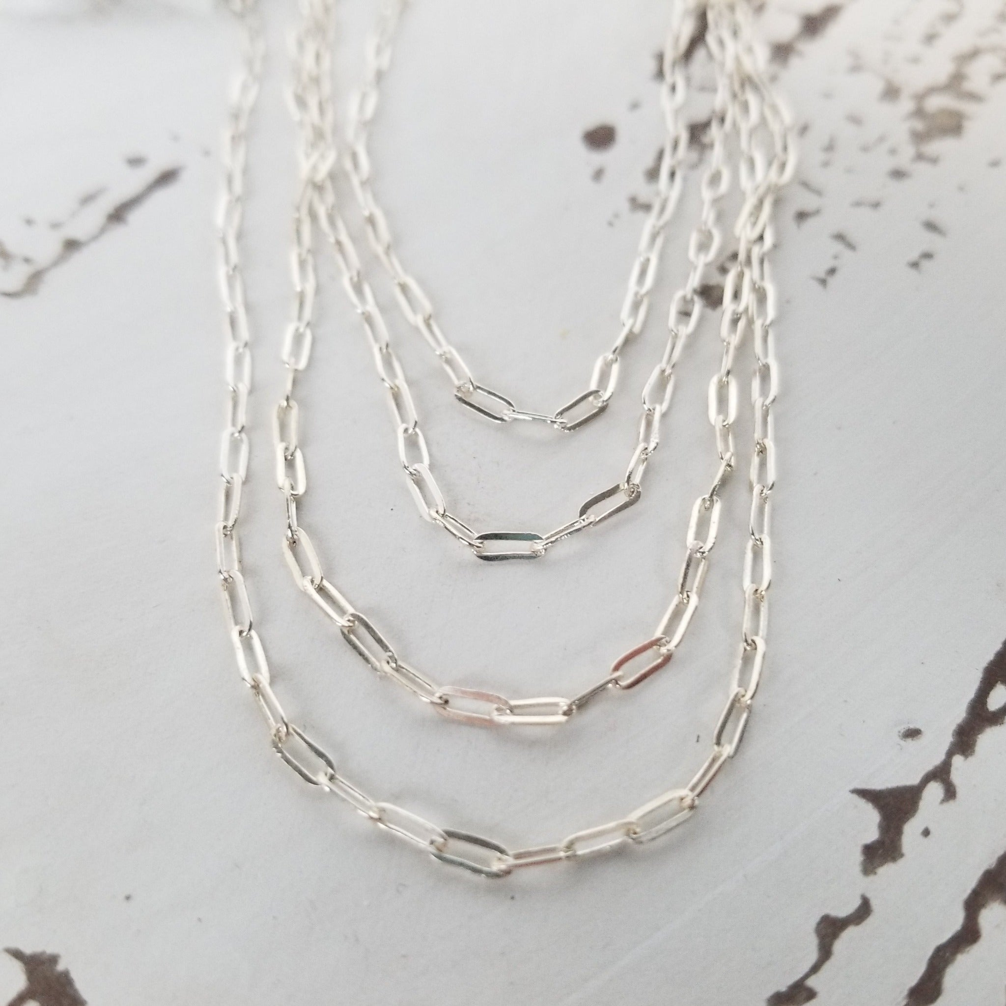 Add On Layering Necklace - Sterling Silver