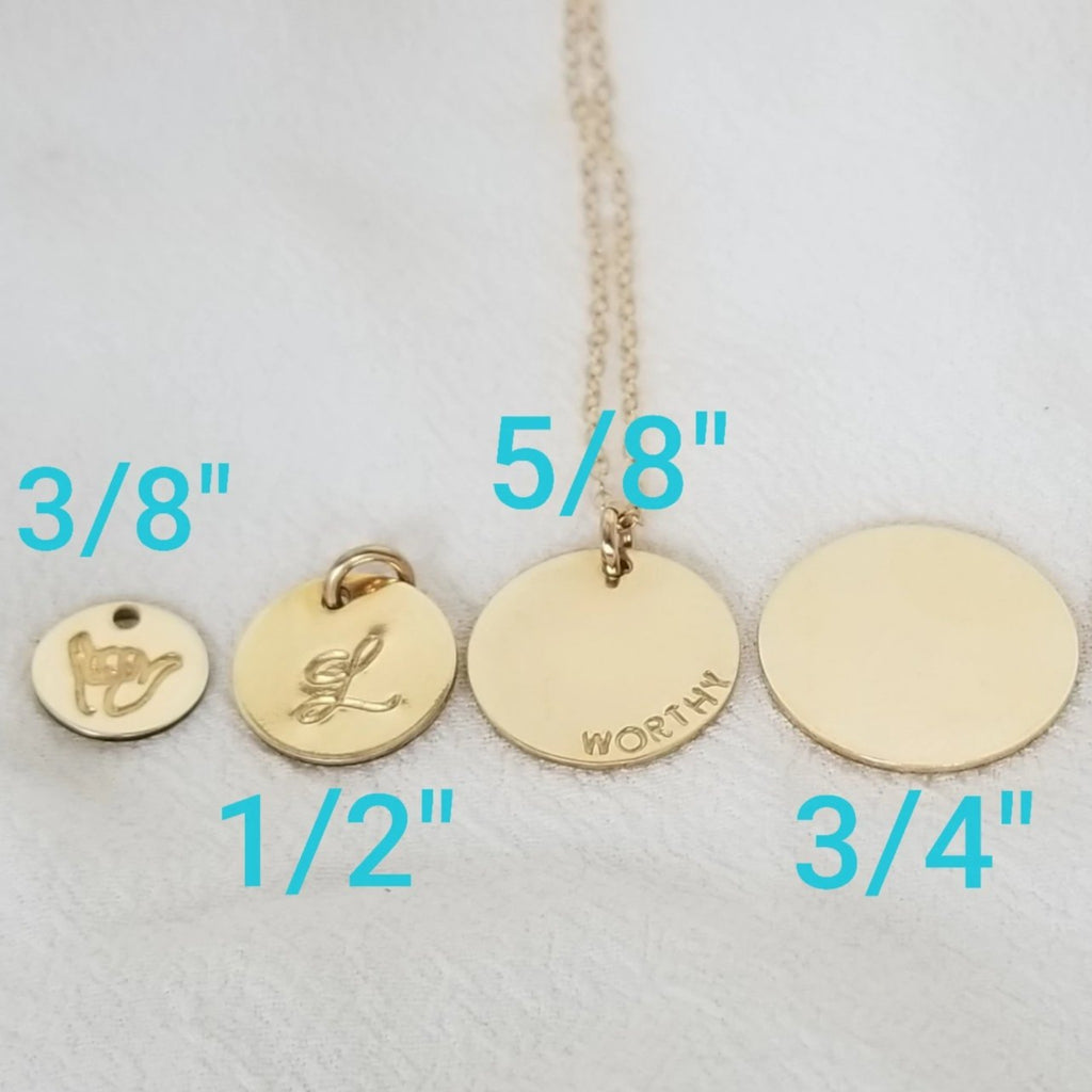 Add On Charm - All Sizes - Sterling, Gold or Rose Gold