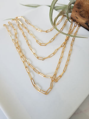 Add On Layering Necklace - Gold