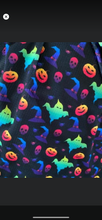 Load image into Gallery viewer, Neon Halloween Headwraps, Clip, Nylon