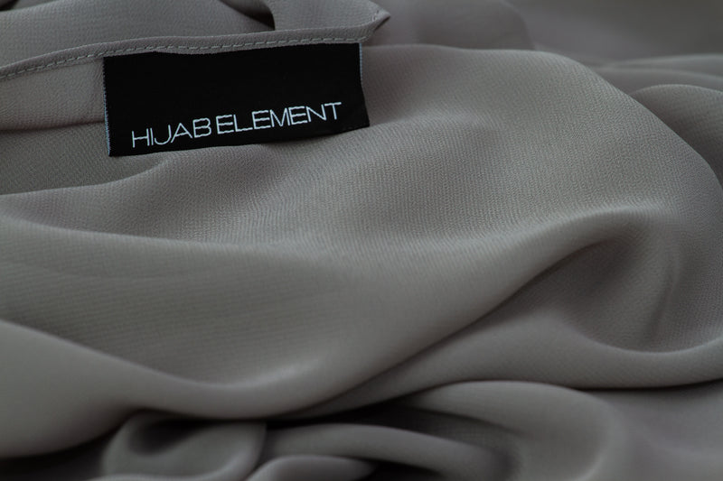 Steel Grey - Hijab Element