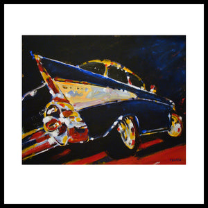 '1957 Chevy Bel Air' Classic Chevrolet Fine Art Prints