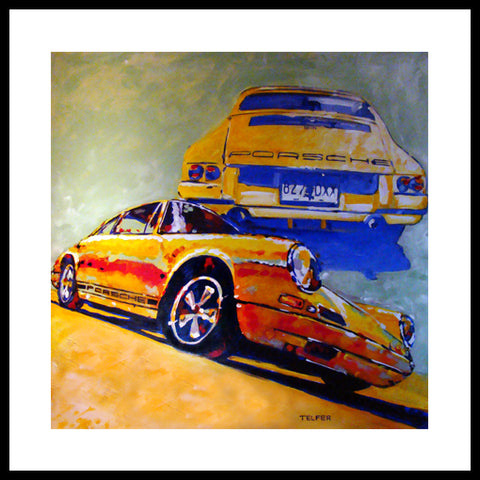 '1968 Porsche 911R' Rarest of all, this 911! Fine Art Prints