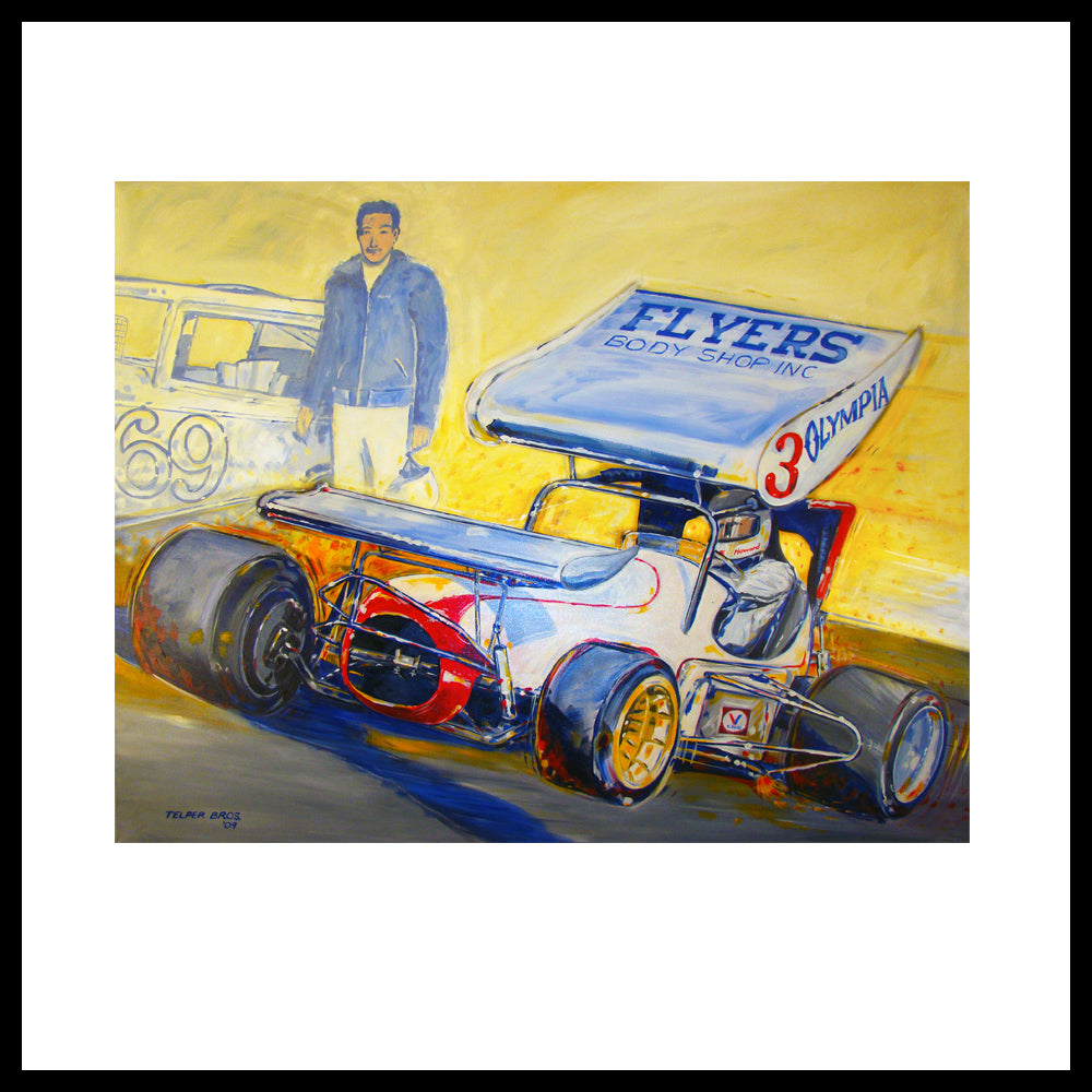 'Howard & Herb Kaeding Super Modified' San Jose, CA Fine Art Prints