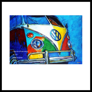 'I had One of Those!' 1960's VW Bus Fine Art Prints