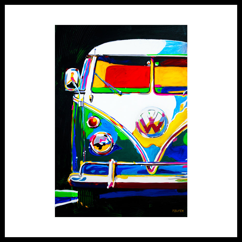 'VW Bus Fun' Fine Art Prints